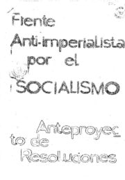 thumbnail of Documentos del VI Congreso