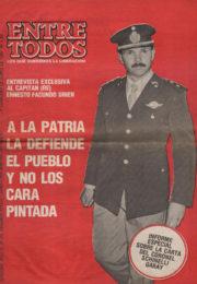 thumbnail of Entre Todos N 29. 1987 junio 2 quincena. Cordoba