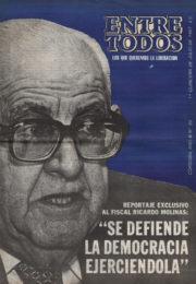 thumbnail of Entre Todos N 30. 1987 julio 1 quincena. Cordoba