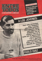 thumbnail of Entre Todos N 33. 1987 septiembre 1 quincena. Cordoba