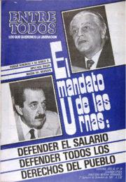 thumbnail of Entre Todos N 34. 2 quincena Septiembre 1987