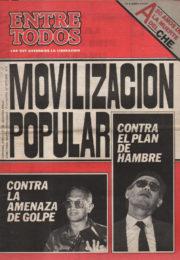 thumbnail of Entre Todos N 35. 1987 octubre 1 quincena. Cordoba