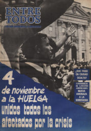 thumbnail of Entre Todos N 36. 1987 noviembre 1 quincena. Cordoba