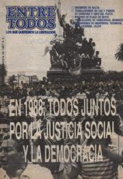 thumbnail of Entre Todos N 38. 1987 diciembre 2 quincena. Cordoba