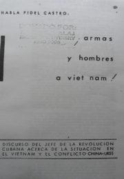 thumbnail of Fidel Castro. Armas y hombres a Vietnam