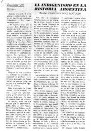 thumbnail of Francisco R. Santucho. El indigenismo en la historia argentina