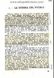 thumbnail of La Guerra del Pueblo. Angel Bengoechea
