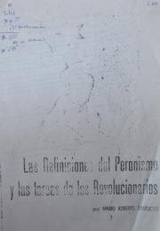 thumbnail of Las definiciones del peronismo