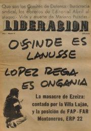 thumbnail of Liberación N° 06