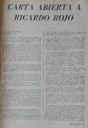 thumbnail of Mendez y Jouve. Carta a Ricardo Rojo