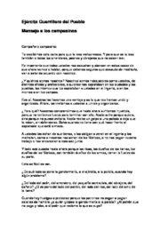 thumbnail of Mensaje a los campesinos
