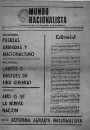 thumbnail of Mundo Nacionalista N 1