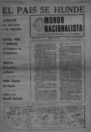 thumbnail of Mundo Nacionalista N 4