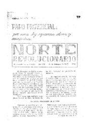 thumbnail of Norte Revolucionario 48