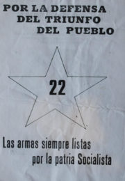 thumbnail of Por la defensa del triunfo del pueblo