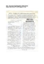 thumbnail of Renuncia de Bengochea a Palabra Obrera