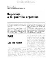 thumbnail of Reportaje a las FAR