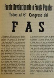 thumbnail of Todos al VI Congreso del FAS