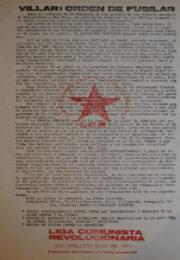 thumbnail of Villar. Orden de fusilar