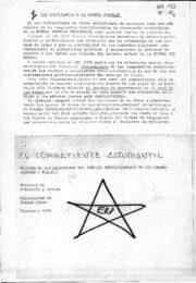 thumbnail of 1971 diciembre. El Combatiente Estudiantil N 1