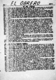 thumbnail of 1971 mayo. El Obrero N 14