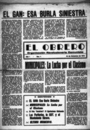 thumbnail of 1972 diciembre 22. El Obrero N 01