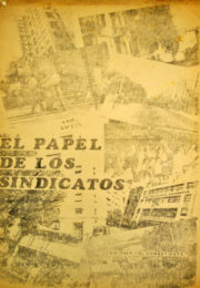 thumbnail of 1972. El Papel de los Sindicatos