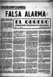 thumbnail of 1973 febrero 22. El Obrero N 03