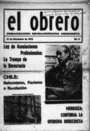 thumbnail of 1973 noviembre 12. El Obrero N 4