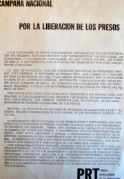thumbnail of 1973. Campana por la liberacion de los presos