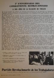 thumbnail of 1974 agosto 22. II Aniversario del combatiente revolucionario