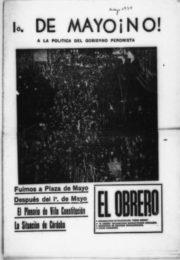 thumbnail of 1974 mayo. 1 de mayo no a la politica del gobierno