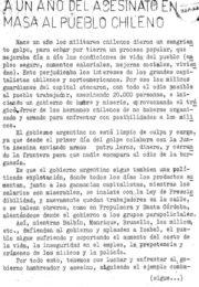 thumbnail of 1974. A un anio del asesinato en masa pueblo chileno. GUS