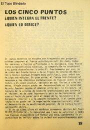 thumbnail of 1978 marzo. Los cinco puntos