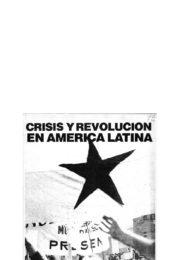 thumbnail of Crisis y revolucion en America Latina