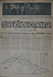 thumbnail of Cuba Revolucionaria n 01