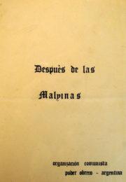 thumbnail of Despues de Malvinas 1982 julio