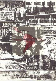 thumbnail of Diez annos de lucha