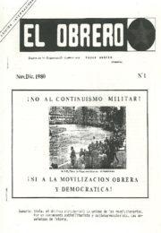 thumbnail of El Obrero N 1