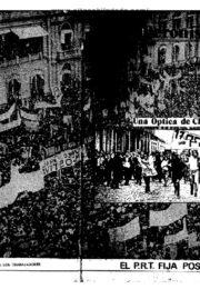 thumbnail of El PRT fija posicion. Peronismo