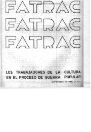 thumbnail of Los trabajadores de la cultura