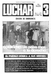thumbnail of Luchar N 3