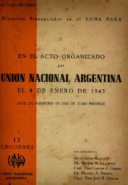 thumbnail of 1943. Union Nac Argentina