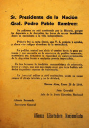 thumbnail of 1944 enero. Sr. Presidente
