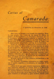 thumbnail of 1944. Cartas al Camarada