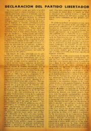 thumbnail of 1945 diciembre. Declaracion del Partido Libertador