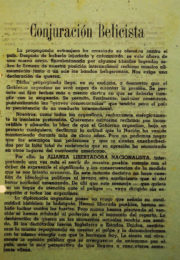 thumbnail of 1945. Conjuracion Belicista