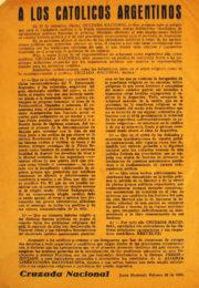 thumbnail of 1946. Cruzada Nacional
