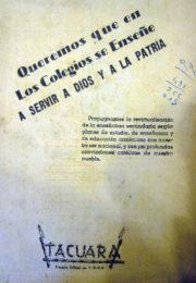thumbnail of 1948 agosto. Tacura N 5. Vocero de la UNES