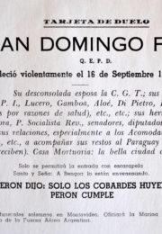 thumbnail of 1955 septiembre. Tarjeta de Duelo
